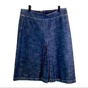 HENNES Pencil Jean Skirt with fanned middle